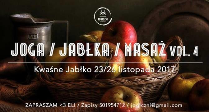 Joga Jabłka Masaż vol.4